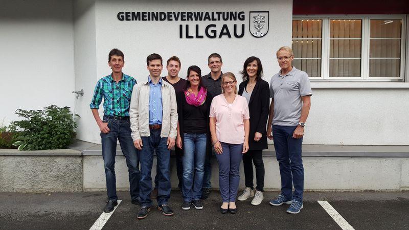 Schulrat Illgau - Gruppenbild