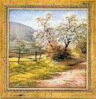 Gemälde Frühling