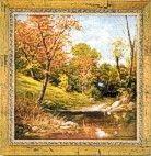 Gemälde Herbst